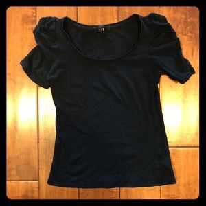 Forever 21 Small black Puff Sleeve Blouse